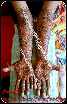 Hi, am Namrata, A #Professional freelance #Mehndi/Henna Artist staying at #Mumbai.  Through my #Mehendi , U can add a touch of lovely art on your special days.