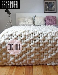 Chunky knit throw chunky wool blanket giant knit blanket