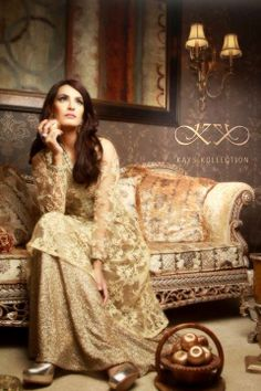 Kays Kollection Women Stylish Formal Dresses 2014 For Winter