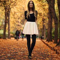 Consejos Tips para usar minifaldas en Invierno