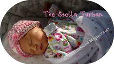Crochet Baby Turban--free pattern