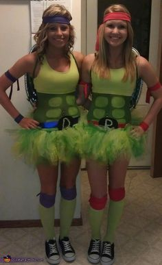 Teenage Mutant Ninja Turtles! #halloween #halloweencostume #diycostume #diy