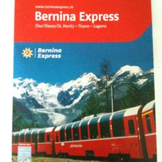 The #BerninaExpress is an UNESCO World Heritage Site that links northern and southern #Europe. #travel #Eurail #Switzerland #Italy