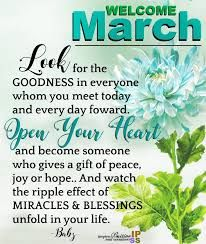 Image result for march quotes and sayings