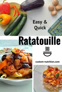 in the fridge? Ratatouille may be just what you need! This version ...