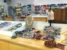 Baubles & Beads  Visit one of our two San Francisco Bay Area locations!  1676 Shattuck Ave.  Berkeley, CA 94709  510-644-2323 or   1104 4th st.  San Rafael, CA 94901  415-457-8891   www.baublesandbeads.com