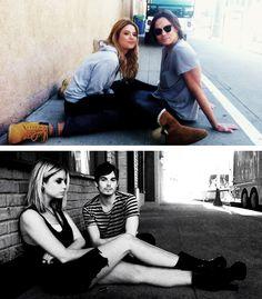 Tyler Blackburn and Ashley Benson | April 2013 and June 2014