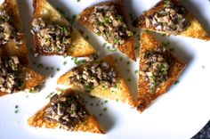 creamed mushrooms on chive butter toast – smitten kitchen