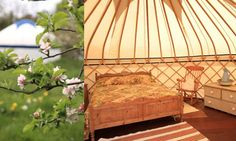 Glamping sites (UK)