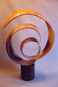 "Hydra - 18"" x 12"" x 5"" - bay laurel made by John McAbery"