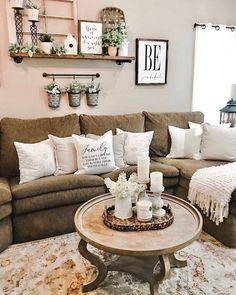 139 incredible farmhouse living room sofa design ideas and decor 30 Small Space Living Room, Best Living Room Design, Cozy Living Rooms, My Living Room, Home And Living, Living Room Designs, Living Room Decor, Small Living, Bedroom Decor