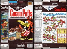 Vintage General Mills cereal boxes | General Mills - Target Retro Cocoa Puffs cereal box - 2009 | Flickr ...