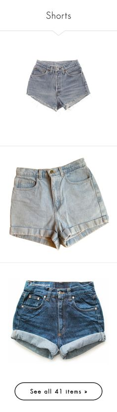 """""""Shorts"""" by layla1288 ❤ liked on Polyvore featuring shorts, bottoms, short, levi shorts, cut-off shorts, cutoff denim shorts, hot shorts, denim shorts, pants and denim"""