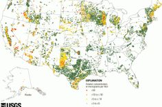 This handy map shows where there's arsenic in the drinking water