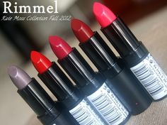 Transform Your Lip Color With The Rimmel Lasting Finish Lipstick by Kate Moss Fall 2012 Collection