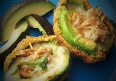 Breaded Stuffed Avocados- These are absolutely melt-in-your-mouth delicious!  Full avocado, fajita chicken and white cheese.  I've had them at a few restaurants in Houston, but haven't seen them anywhere else.  Divine!