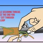 Wrapping Your Rod Guides Picture Illustration Fishing Knots, Gone Fishing, Best Fishing, Fishing Tips, Fishing Lures, Fishing Basics, Fishing Stuff, Fishing Tackle, Tennessee Valley Authority