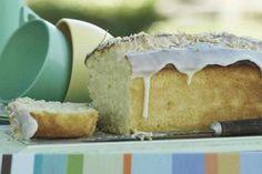 Memories of the Greek Islands... Lemon and Coconut Cake. Via Taste.com.au