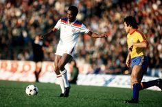 - Laurie Cunningham in full flight for England against Romania, 1980 Football Icon, Football Jerseys, England Kit, Chris Wright, England Football, West Bromwich, Team Player, Coming Home, Soccer