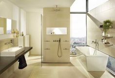 Bathroom In Beige Modern Stunning Tile Bathroom Beige – home decor Source by a_heusel