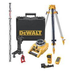 Dewalt Self-Levelling Rotary Laser Level 26652 Fully automatic, horizontal and vertical rotary laser with remote control for single person operation over long distances. Built-in beam splitting prism allows easy squaring applications while digital http://www.MightGet.com/april-2017-1/dewalt-self-levelling-rotary-laser-level-26652.asp