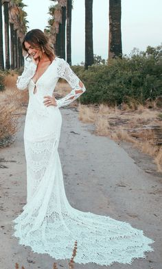 """2017 Sunshine Of My Love Collection, """"Abbott"""" Wedding Gown // Click to Shop"""