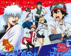 Gintama vs Sket Dance...That was the episode I only saw 5 mins of it and was laughing til I cried X'D
