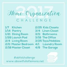 Week 1 Organizing Challenge: Kitchen | A Bowl Full of Lemons