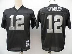 Kenny Stabler Oakland Raiders Throwback Jerseys