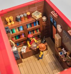 Lego Occult Shop   by Rob Bender
