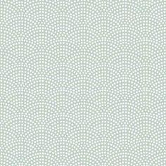 Little Dutch - Behang kinderkamer - Waves Mint - groen - 53cmx10m Vintage Design, Waves, Decoration, Diagram, Wallpaper, Prints, Projects, Instructions, Dimensions