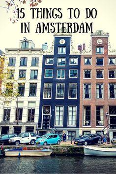 15 věcí, co dělat v Amsterdamu/P