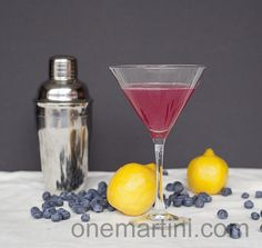 blueberry lemon drop cocktail Ingredients  2 ounces blueberry vodka  1 ounce fresh squeezed lemon juice  4-5 fresh, organic blueberries  Lemon wheel or blueberries for garnish  Optional: Simple syrup to taste Preparation  In a cocktail shaker, muddle the blueberries and fresh squeezed lemon juice.  Add vodka with ice.  Shake and strain into a chilled martini glass.  Garnish with a lemon wheel or a few blueberries on a skewer.