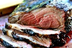 Butterflied Grilled Leg of Lamb, butterflied for easy grilling, marinated in rosemary garlic marinade! Directions for grilling over charcoal or gas. Boneless Leg Of Lamb, Grilled Leg Of Lamb, Bbq Lamb, Grilling Recipes, Cooking Recipes, Lamb Recipes, Veal Recipes, Grilling