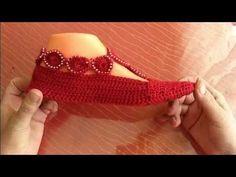 Patik Yapımı/Motifli Örgü Babet Ev Ayakkabısı Modeli - YouTube