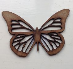 Laser cut wooden butterfly ready to decorate, ideal gift or to use in a crafting project