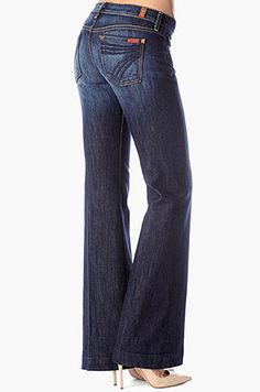 Wide Leg Jeans | 7 For All Mankind | A Drop of Style