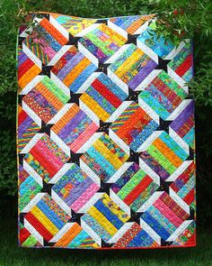Emma's Star Quilt  Pattern PDF by myquiltroom on Etsy, $8.00