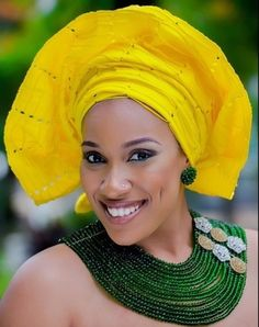 Gélé aso Oke turban headwrap attaché foulard