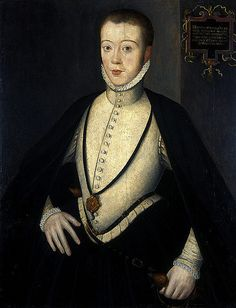 Henry Stewart, Lord Darnley, son of Margaret Douglas, grandson of Margaret Tudor, Husband and Cousin of Mary, Queen of Scots, and Father of King James VI & I.