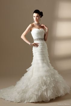 Jasmine Bridal Spring 2012 couture collection