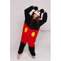 mickey, mickey mouse, mickey mouse kigurumi, mickey mouse onesie, kigurumi pajamas, disney, disney onesie