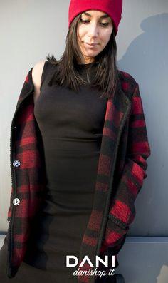 #DANI #check #black #dress #<3 #newyear