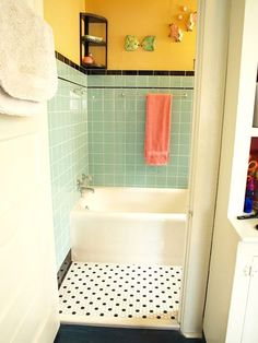 Retro Tile Bathroom 10 blogs every interior design fan should follow | happy, pink