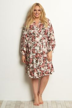 ae80e0464c1 A printed delivery nursing plus size maternity robe to make sure your visit  during and after the hospital is comfortable and stylish.