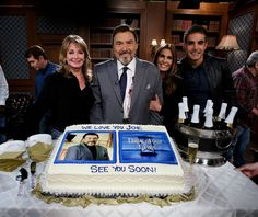 Photos from the on-set celebration of Mascolo's last day of filming in Salem - Soap Opera Digest