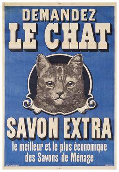 "Verlangen Sie die Seife  ""le chat"""