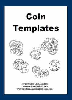 """2 NEW """"MONEY"""" DOWNLOADS:  Download Club members can download @ http://www.christianhomeschoolhub.com/pt/Learning-about-Money/wiki.htm  #homeschool #homeschooling #math #teach #education #money"""