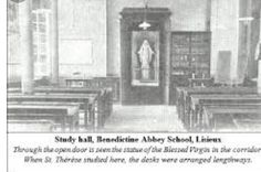 Classroom where Therese studied