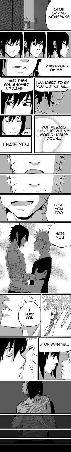 I hate you by solochely #sasunaru #narusasu